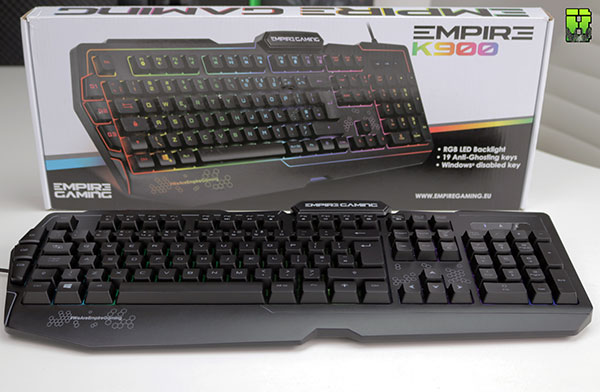 Empire Gaming K900 Keybaord Review