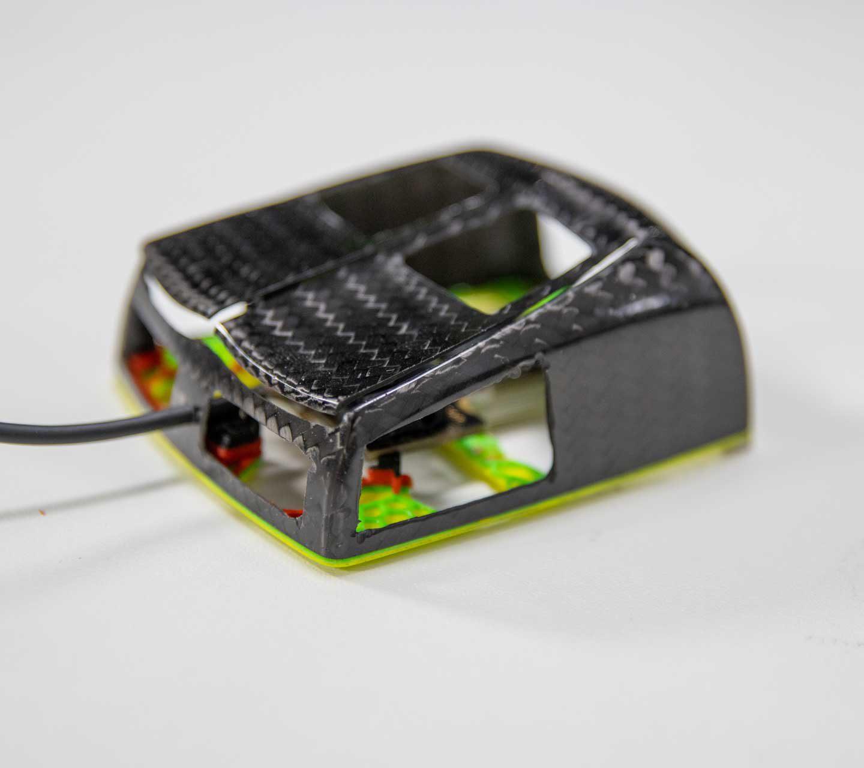 Zaunkoenig M1K 23g Gaming Mouse Weight Reduction Mod