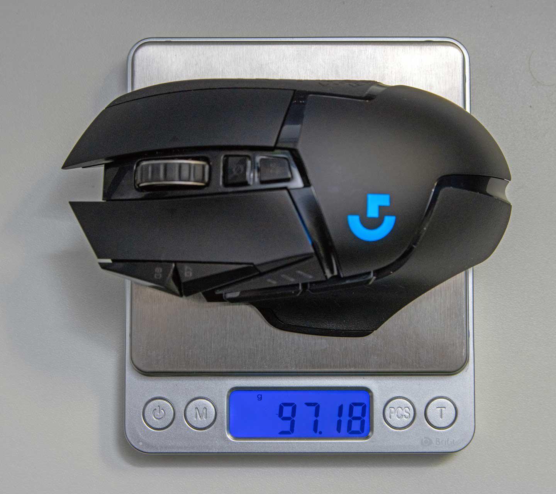Logitech G502 Lightspeed Weight Reduction and Switch Mod
