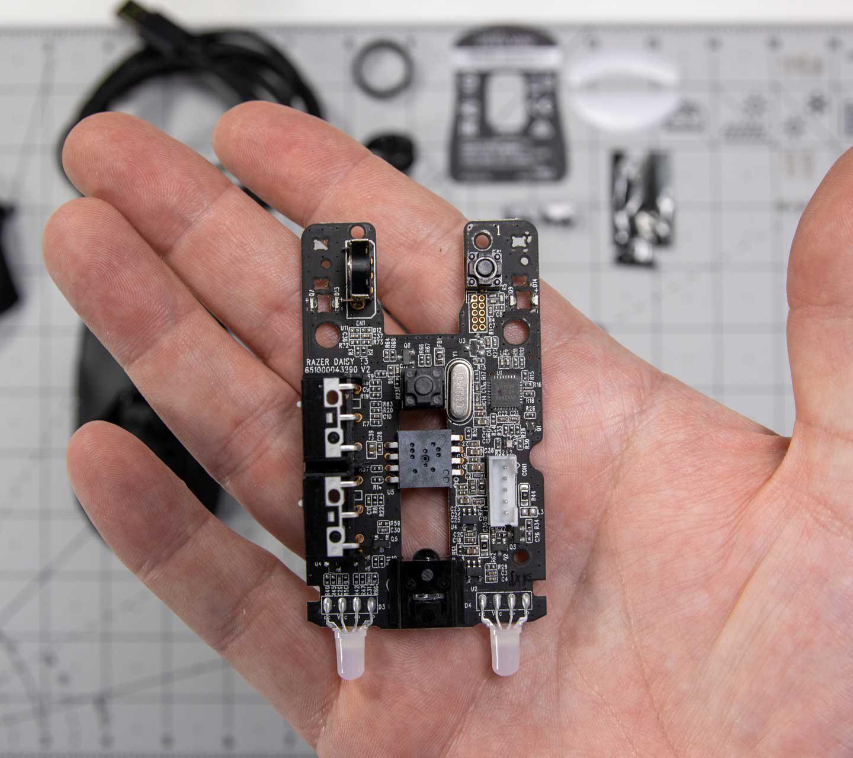 Razer Viper Mini Teardown include the weight for each part