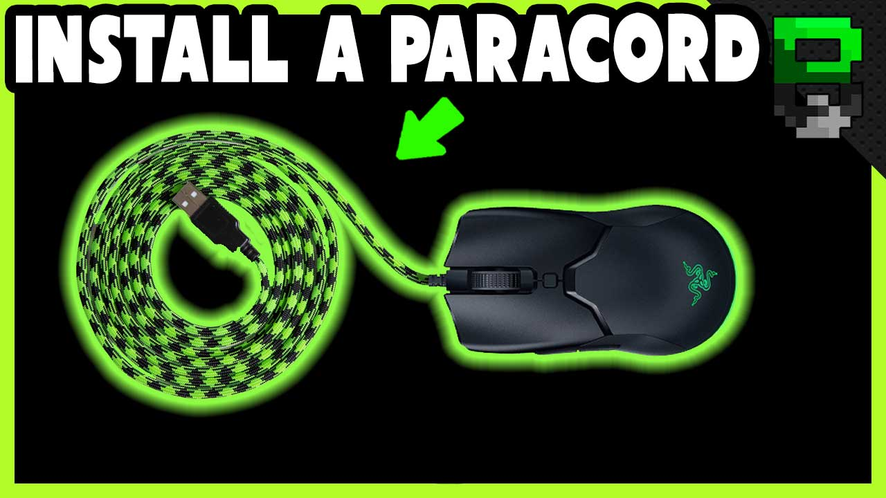 Razer Viper Mini Paracord Mod / Tutorial