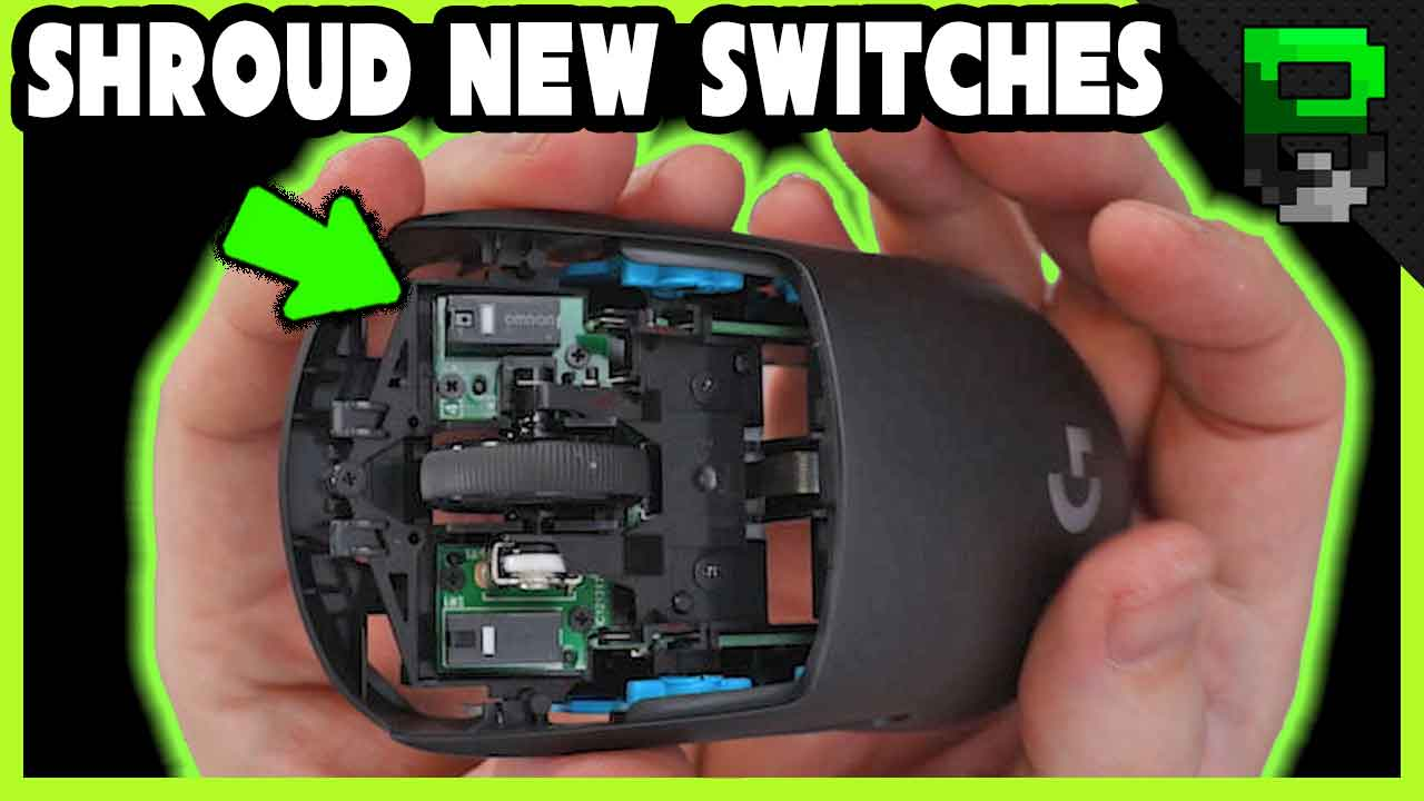 Logitech G Pro Wireless Shroud Edition Teardown