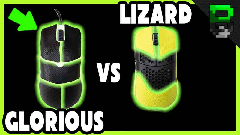Drag Clicking Model O – Glorious vs Lizard Grip Tape CPS Comparison