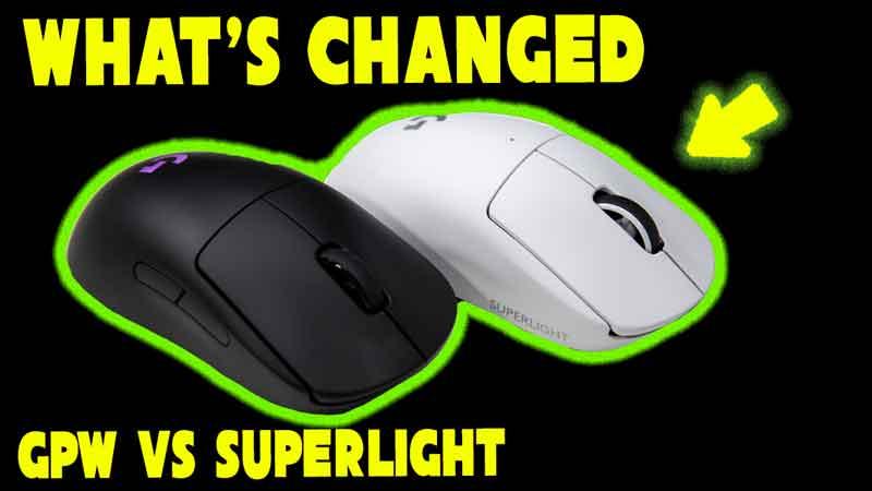 So What's Changed Inside? Teardown Of Logitech G Pro X Superlight vs G Pro Wireless Mouse