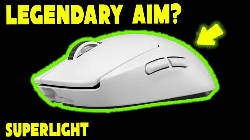 Does A Lighter Mouse Give You Getter Aim? – Logitech G Pro X Superlight Mouse