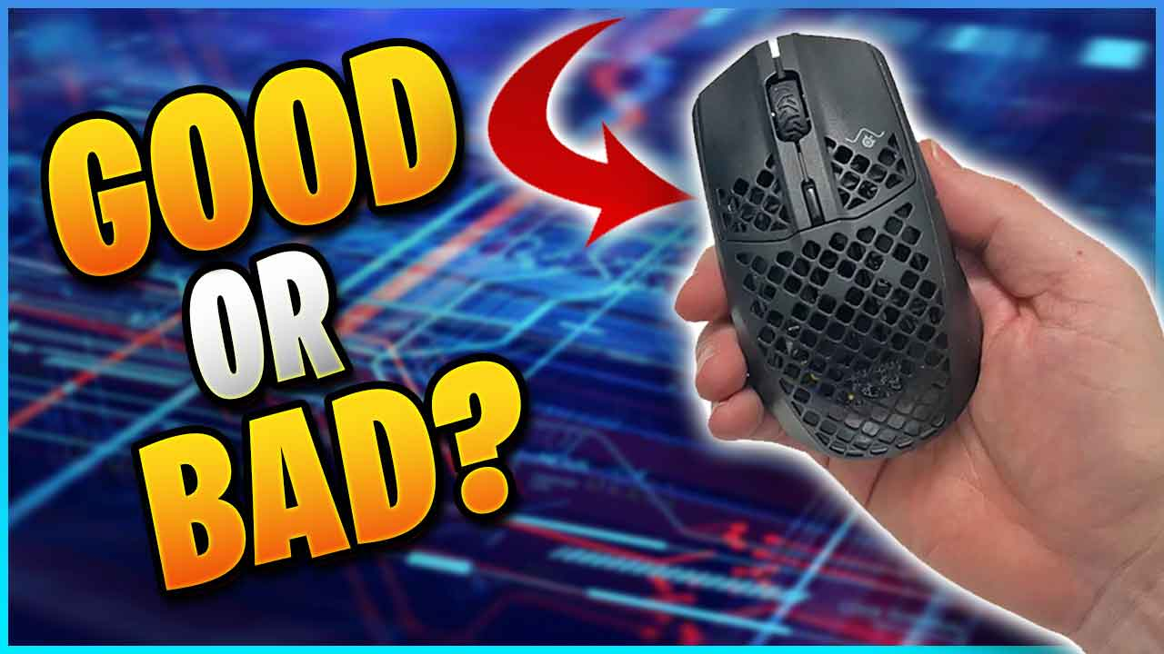 Is it that bad? Aerox 3 Wireless Review 2020 lightweight gaming mouse | My first impression