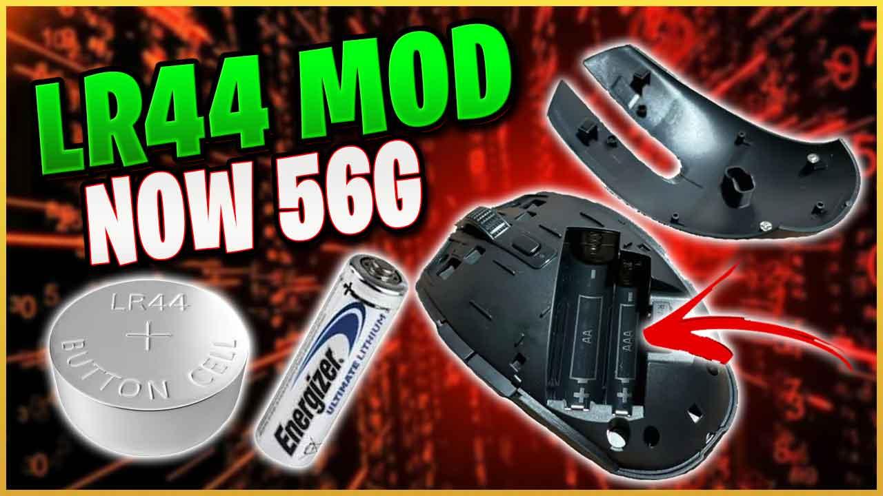 LR44 Battery Mod Razer Orochi V2 Weight Reduction 56g