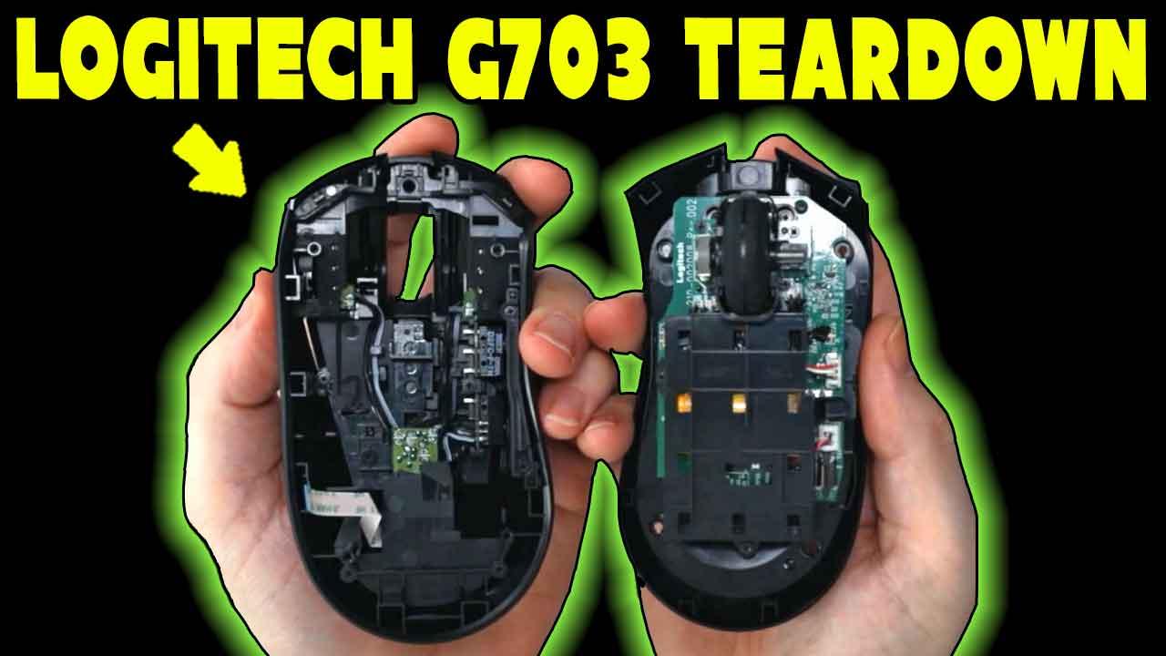Logitech G703 Teardown Hero